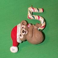 1991 Childs 5th Christmas - Bear