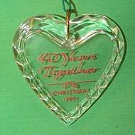 1991 40 Yrs Together