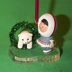 1994 Frosty Friends #15 - Wreath