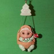 1993 Babys 1st Christmas - Swing