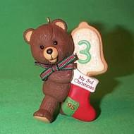 1995 Child's 3rd Christmas - Bear