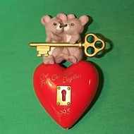 1995 1st Christmas Together - Heart