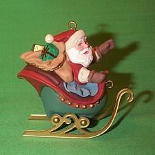 1992 Santa And Reindeer - Santa