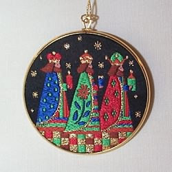 1983 Hall Family Ornament - No Card