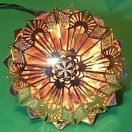 1987 Lacy Brass Snowflake