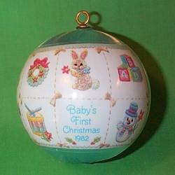 1982 Babys 1st Christmas - Boy