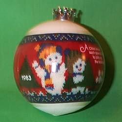 1983 Babys 2nd Christmas - Ball
