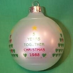 1988 5 Yrs Together