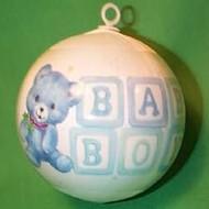1987 Babys 1st Christmas - Boy