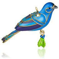 2015 Beauty of Birds - Mini Blue Bunting