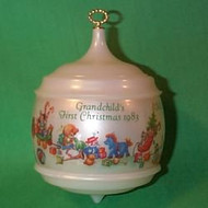 1983 Grandchild 1st Christmas - Bulb