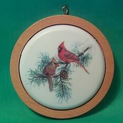 1982 Holiday Wildlife #1 - Cardinals