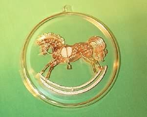 1984 Old Fashioned Rocking Horse