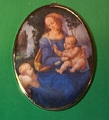 1986 Art Masterpiece #3F - Madonna