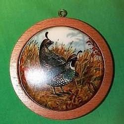1985 Holiday Wildlife #4 - California Partridge