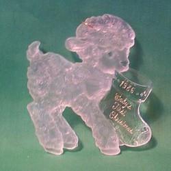 1986 Babys 1st Christmas - Lamb