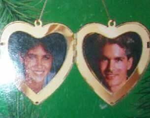 1986 1st Christmas Together - Locket