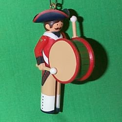 1983 Clothespin Soldier #2 - Early American