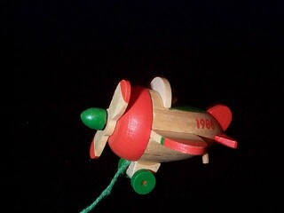 1988 Wood Childhood #5 - Airplane