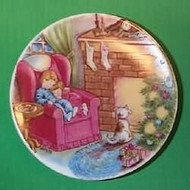 1988 Plate #2 - Waiting For Santa