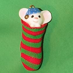 1981 Stocking Mouse - Little Trimmer
