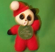 1986 Childs 3rd Christmas - Bear