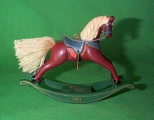 1983 Rocking Horse #3 - Russet