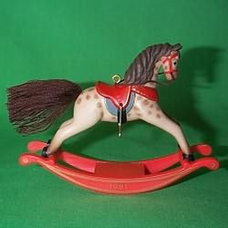 1981 Rocking Horse #1 - Dappled
