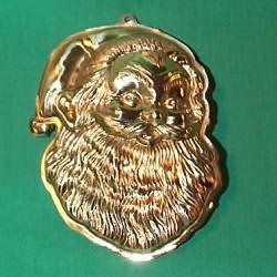 1983 Brass Santa