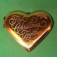 1983 1st Christmas Together - Locket