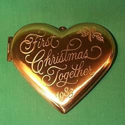1983 1st Christmas Together - Locket