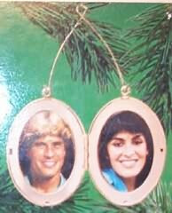 1984 1st Christmas Together - Locket