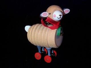 1984 Wood Childhood #1 - Lamb