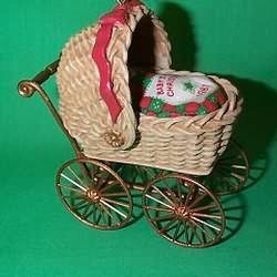 1981 Babys 1st Christmas - Buggy