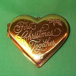 1982 1st Christmas Together - Locket
