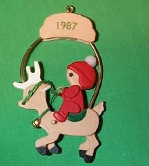1987 Childs 3rd Christmas - Deer