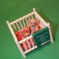 1987 Grandchild's 1st Christmas