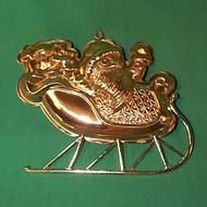 1982 Santa's Sleigh