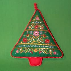 1982 Embroidered Tree