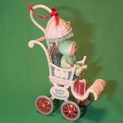 1985 Babys 1st Christmas - Stroller