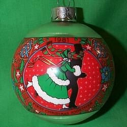 1st Christmas Together Ornament