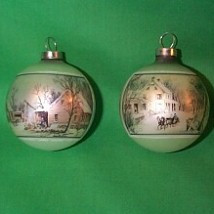 1974 Currier and Ives - 2 Bulbs