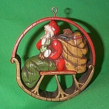 1975 No - Santa and Sleigh