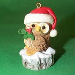1980 Christmas Owl - Little Trimmer