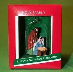 1989 Holy Family - Miniature