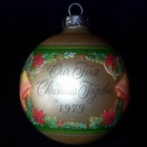 1979 1st Christmas Together - Bulb
