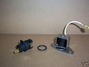 TH400 3L80 Detent Solenoid Kit with Large One Pin Connector.