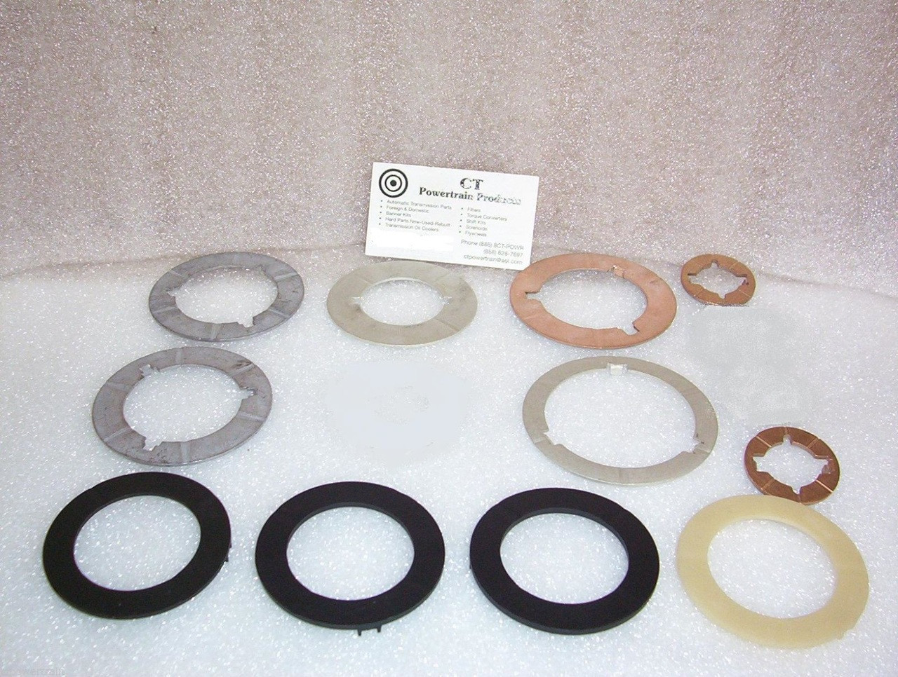 C4 Thrust Washer Kit W Selectives 1964 1969 New Ford