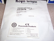 4L60E 4L65E 4L70E New Thrust Bearing Kit Torrington 2001-on