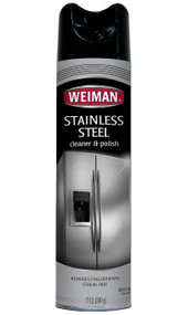 Weiman 17oz Stainless Steel Aerosal Cleaner & Polish